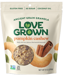 Love Grown Ancient Grain Granola Almond Cashew