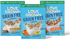 Love Grown Grain Free Cereal